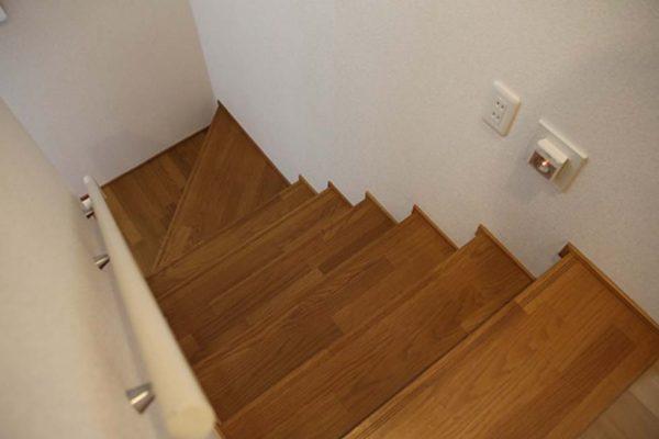 住宅内の階段