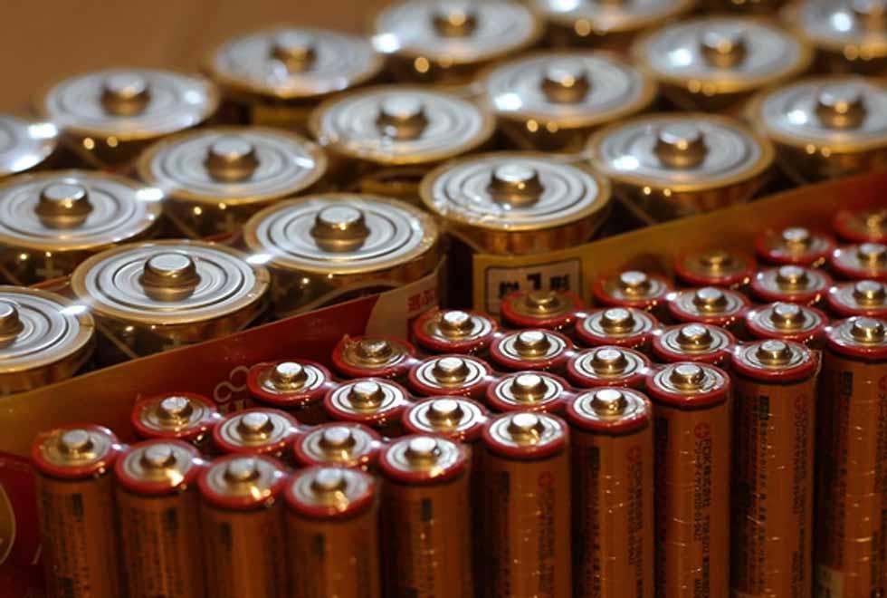 乾電池備蓄